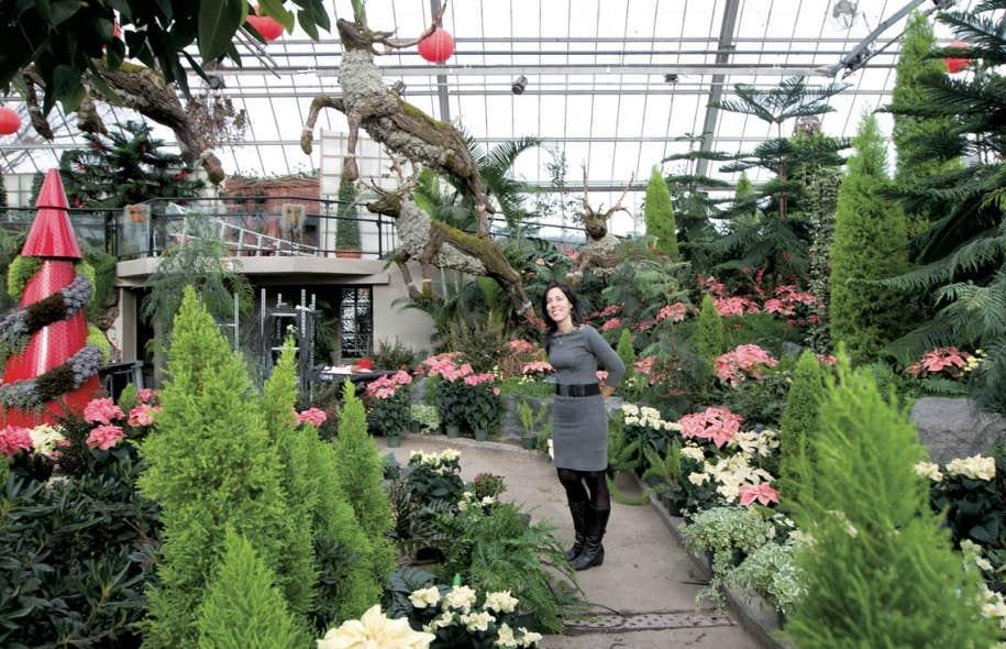 No l panach au jardin botanique le devoir for Restaurant jardin botanique