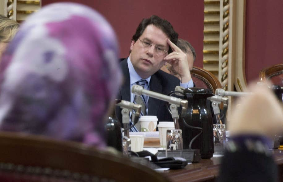 Le ministre responsable du projet de loi 60 sur la charte de la laïcité, Bernard Drainville