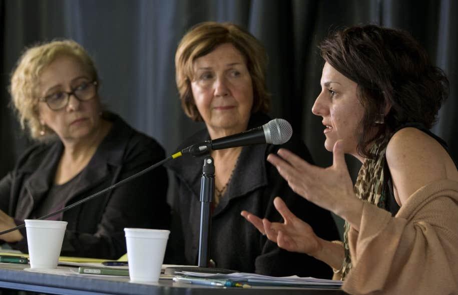 L'organisme Pour le droit des femmes du Québec, auquel adhèrent Evelyne Abitbol, Michèle Sirois et Djemila Benhabib, réclame que des enquêtes soient ouvertes pour retrouver les auteurs des menaces reçues par certaines femmes musulmanes.