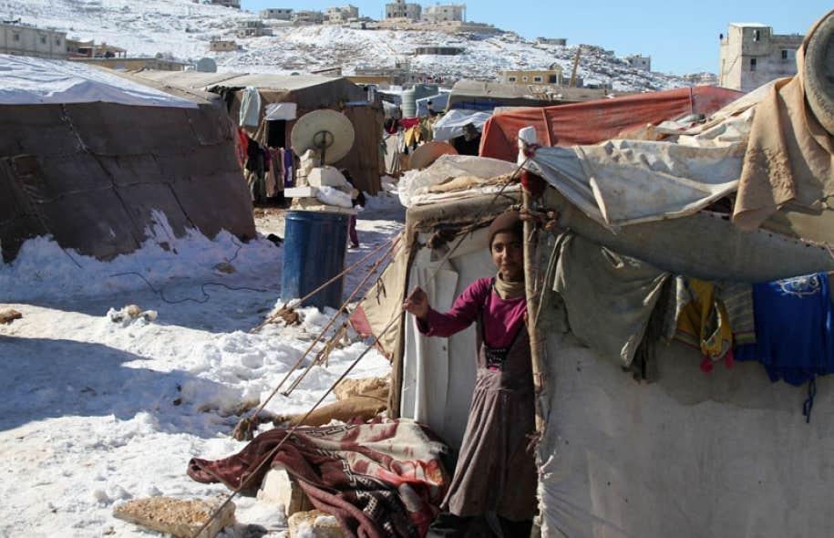 Le conflit syrien a forcé plusieurs populations à se déplacer vers les pays alentour, comme le Liban, où l'organisme Développement et paix apporte des secours d'urgence aux réfugiés.