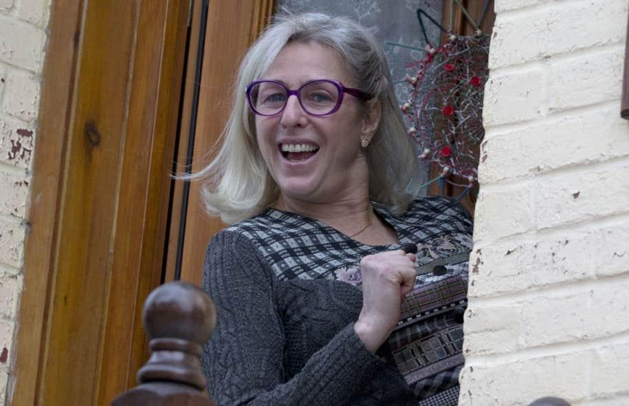 La comédienne Sylvie Legault se présente dans la circonscription montréalaise de Mercier.