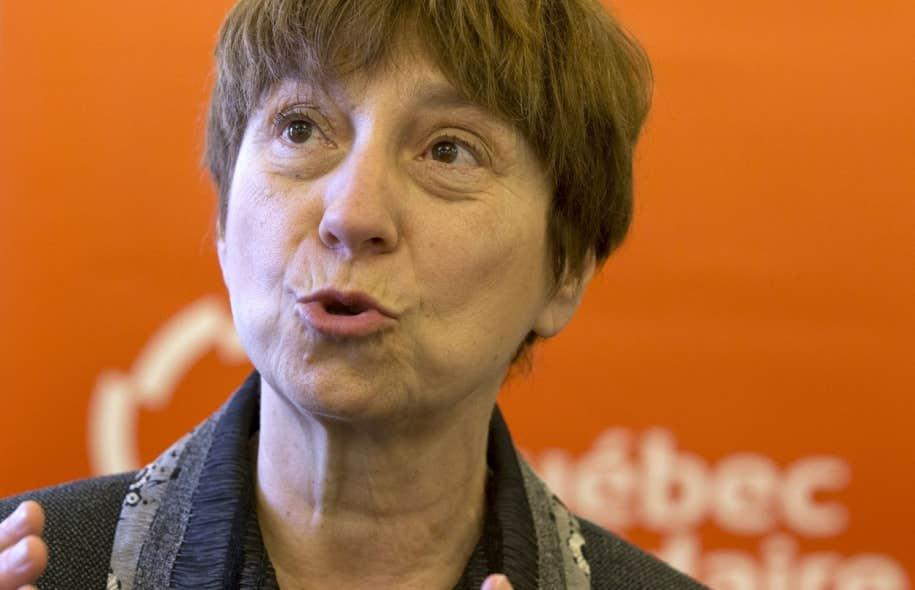 Pour la première fois de son histoire, Québec solidaire aura des fonds suffisants pour monter dans un autobus de campagne. Françoise David compte bien raviver les idées révolutionnaires du Québec qui s'est soulevé au printemps 2012.