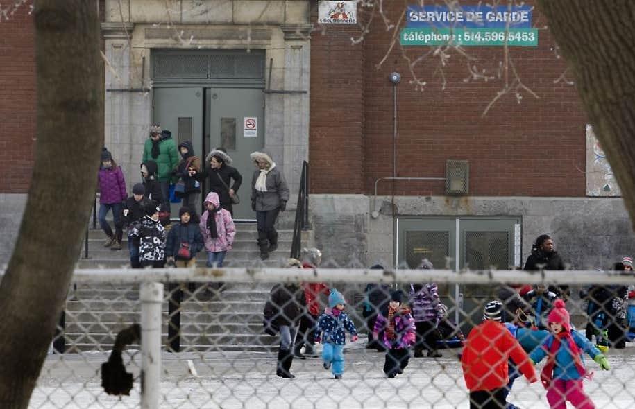 À Montréal, l'école Saint-Gérard est une des écoles qui a obtenu une garantie de financement pour les travaux.