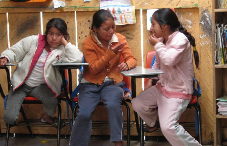 Au Chiapas, les enfants vont à «l'école primaire rebelle autonome zapatiste».
