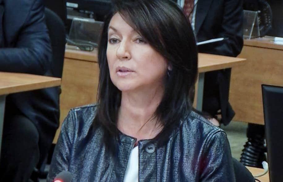 Nathalie normandeau d fend son droit au pouvoir discr tionnaire le devoir - Chef de cabinet du premier ministre ...