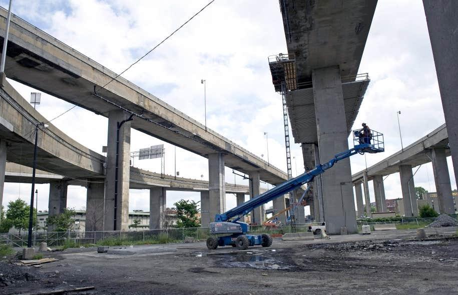 Les coûts de reconstruction du complexe Turcot sont évalués à 3,7milliards.