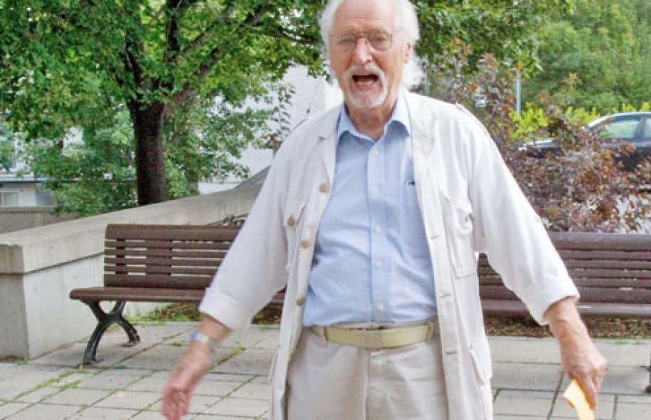 Nicolas Sollogoub en 2011, alors que le Musée du Château Dufresne lui consacrait une rétrospective.