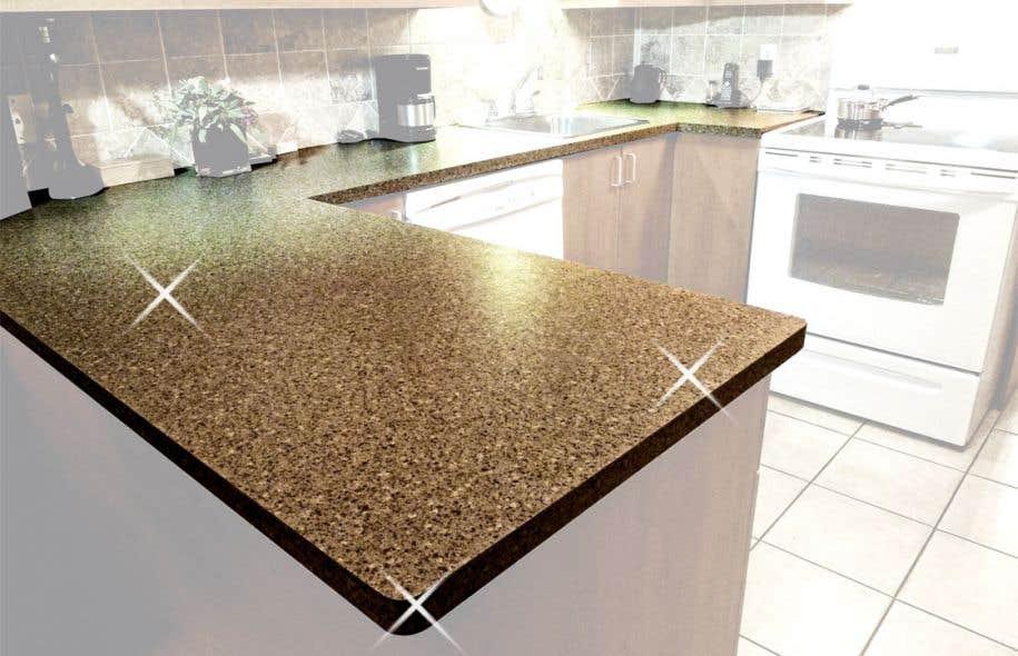 Comptoir facile pour r novateurs novices le devoir - Recouvrir un comptoir de cuisine ...