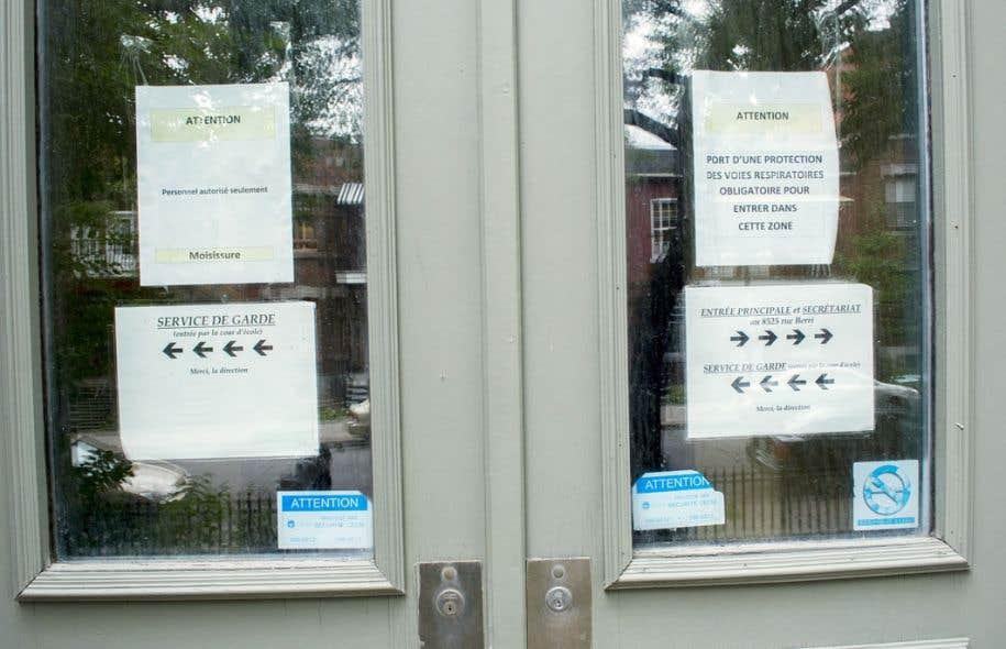 L'école Saint-Gérard, dans Villeray, a dû fermer ses portes en janvier 2012 en raison de la présence de moisissures dans l'enceinte de l'établissement.