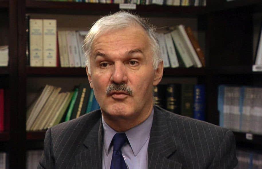 L'avocat Jean-Pierre Ménard.