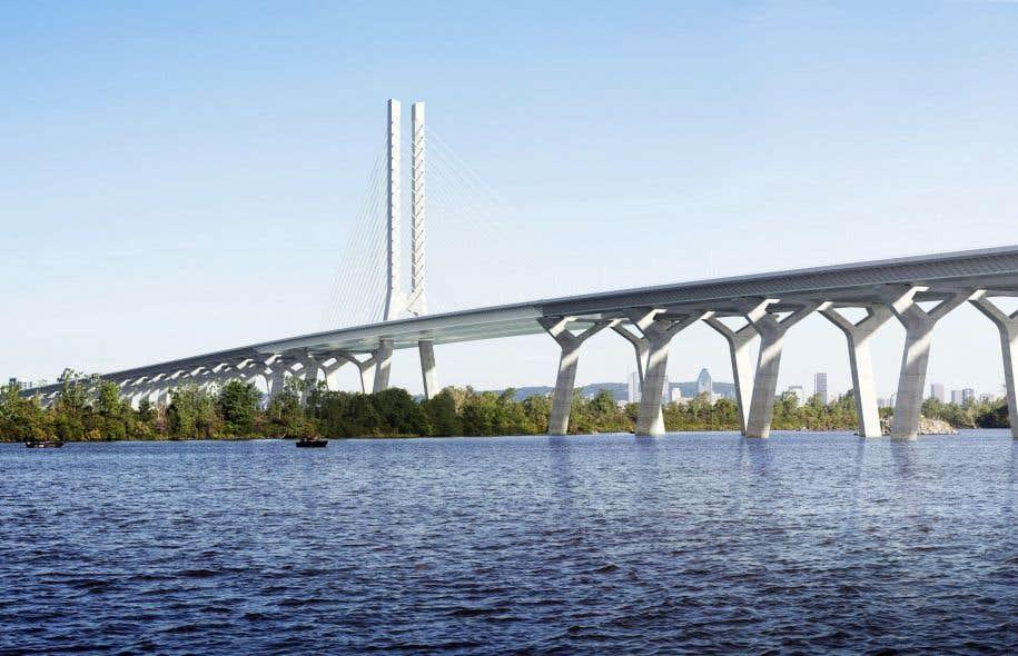Denis Coderre trouve «triste» qu'on «tente de créer une controverse» autour de l'appellation du nouveau pont Champlain.