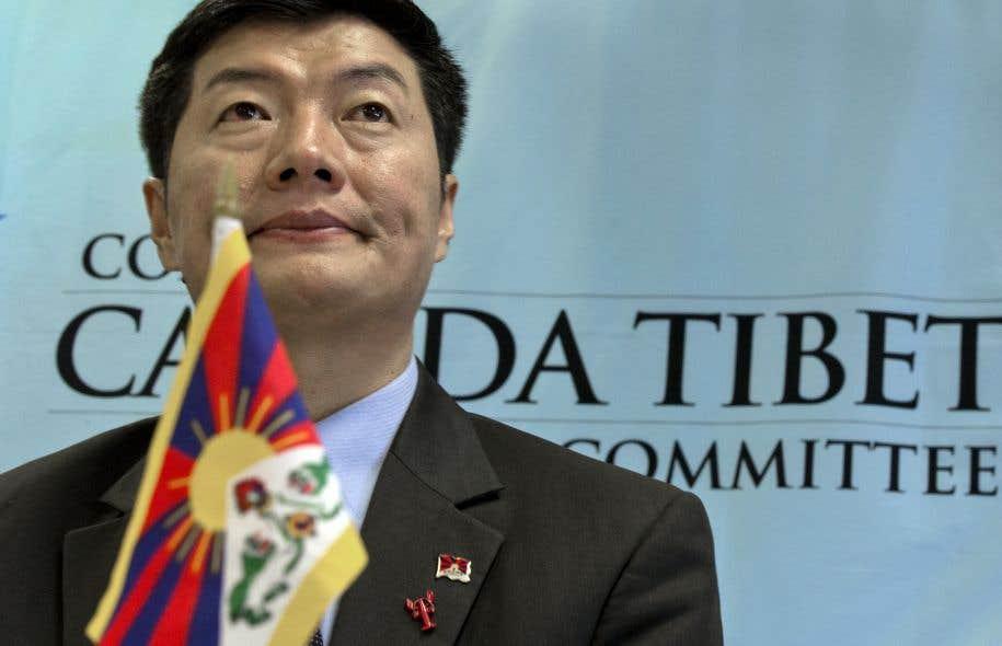 Lobsang Sangay, le chef du gouvernement tibétain en exil