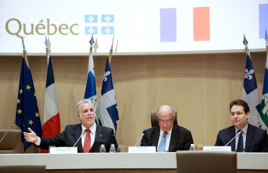 Couillard confront aux r ticences fran aises le devoir for Centre francais du commerce exterieur