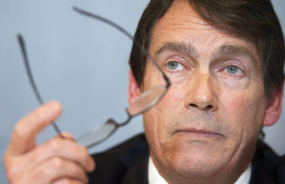 Pierre Karl Péladeau a dit craindre que le siège social du Cirque du Soleil puisse déménager d'ici quelques années.