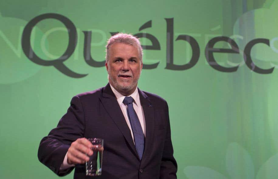 Le premier ministre libéral a de nouveau rejeté l'idée de céder aux municipalités un point de pourcentage de la TVQ, jeudi.
