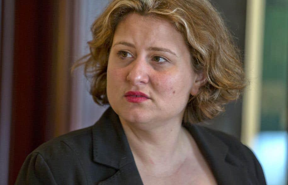 La présidente de la CSDM, Catherine Harel Bourdon, n'avait pas voulu dire la semaine dernière si le DG détenait toujours sa confiance.