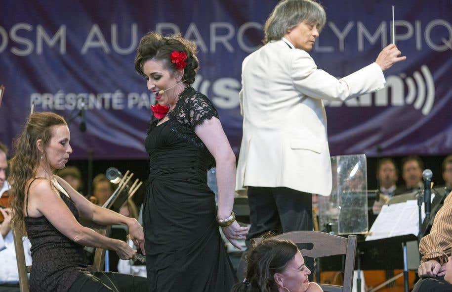 L'Orchestre symphonique de Montréal, Kent Nagano et la mezzo Michèle Losier lançaient mercredi soir la Virée classique 2015 avec un concert consacré à l'opéra «Carmen».