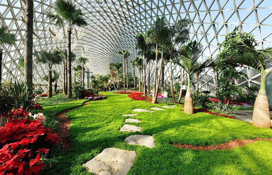 Le jardin botanique de chenshan le devoir for Restaurant jardin botanique