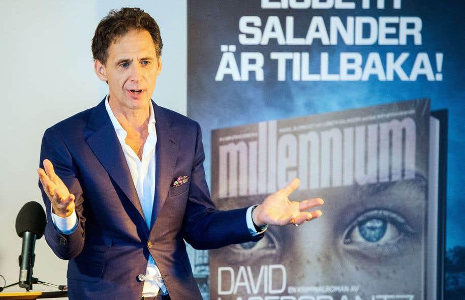 David Lagercrantz dit avoir été pétri d'angoisse en écrivant la suite de la célèbre trilogie de polars <em>Millénium</em>, œuvre originale de Stieg Larsson.