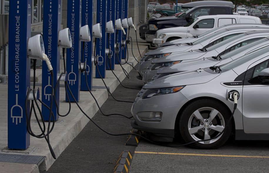 Des voitures électriques