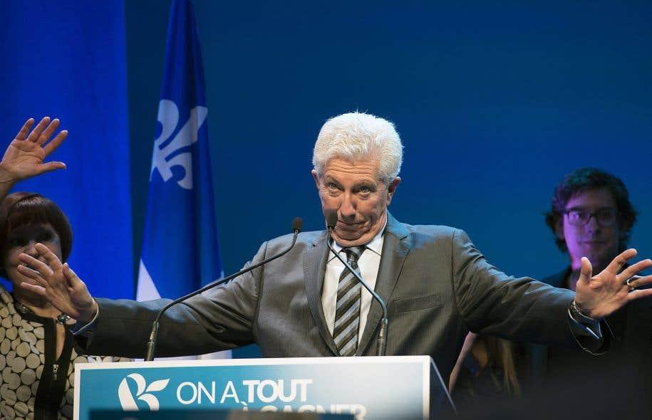 Gilles Duceppe avait demandé aux Québécois la «balance du pouvoir» à Ottawa. Sa formation ne l'obtiendra pas.