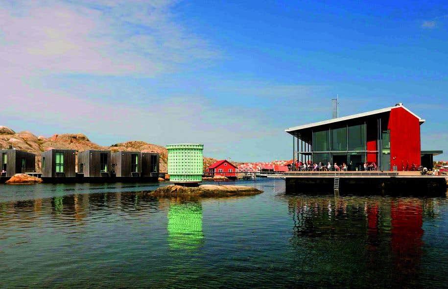 Le Musée nordique de l'aquarelle, à Skärhamn