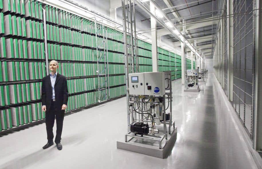 Le centre de données de Facebook près du cercle arctique, en Suède, fut le premier ouvert en dehors des États-Unis, en 2013.