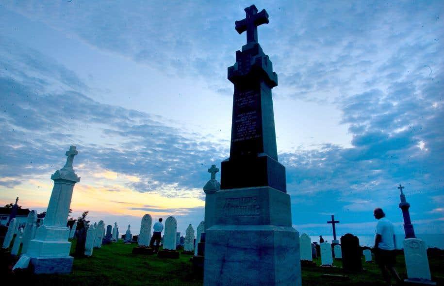Le cimetière n'est plus systématiquement le choix des Québécois.