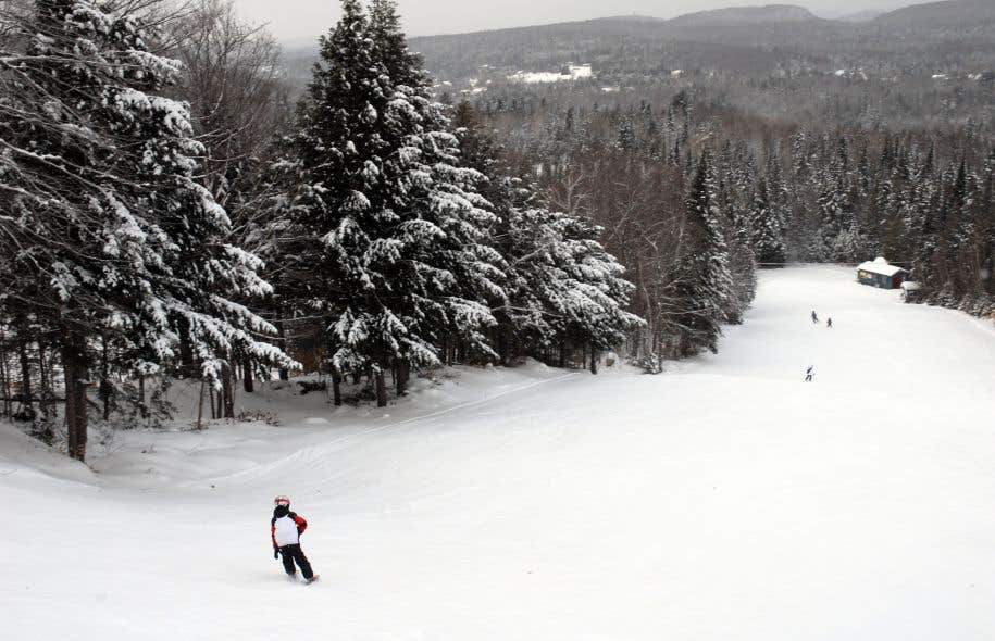 Il suffit de passer une heure à Ski Montcalm pour comprendre que cette station est taillée sur mesure pour les jeunes débutants.