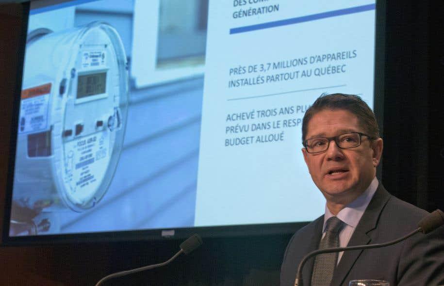 Éric Martel a rappelé que les hivers exceptionnellement froids des deux dernières années sont intimement liés aux résultats records enregistrés par Hydro-Québec.