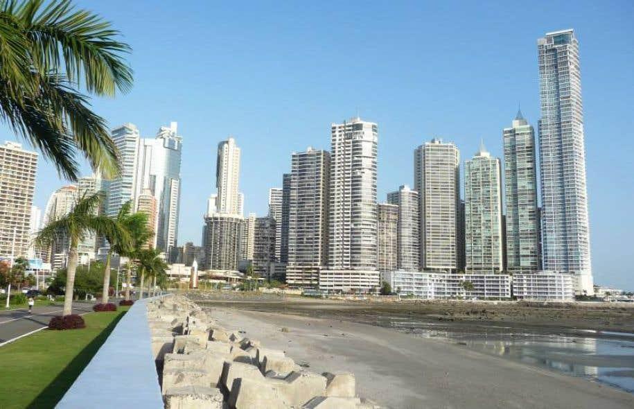 Vue de la capitale Panama City