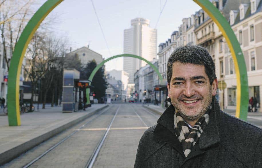 Le maire de Mulhouse, Jean Rottner, dans sa «ville de naissance et de cœur»