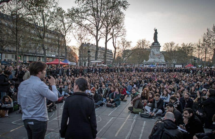 Le mouvement Nuit debout s'est donné comme objectif de proposer une nouvelle forme d'organisation.