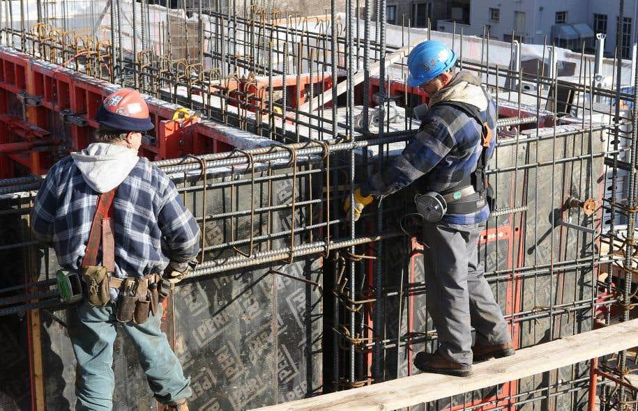 Recul de la valeur des permis de construction le devoir for Permis de construction