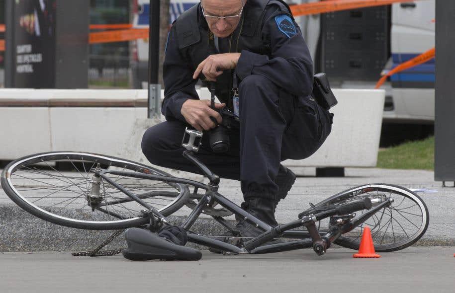 Chaque année, quelques centaines de collisions impliquant des cyclistes sont rapportées au Service de police de la Ville de Montréal.