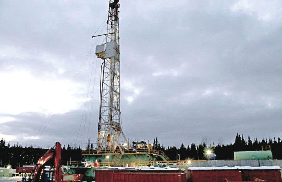 Le puits Haldimand 4 est situé à 350 mètres d'un secteur résidentiel de Gaspé.