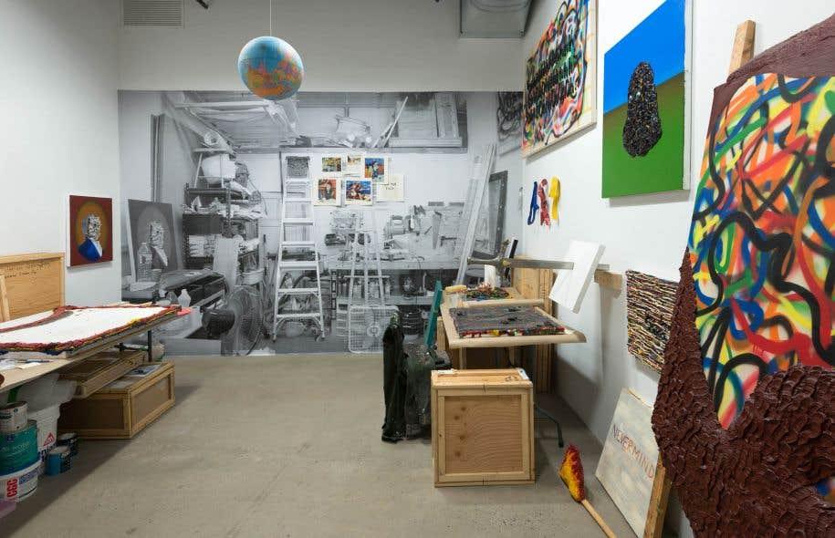 C'est la première rétrospective de l'œuvre de l'artiste à travers un parcours organisé autour de thèmes récurrents dans sa pratique.