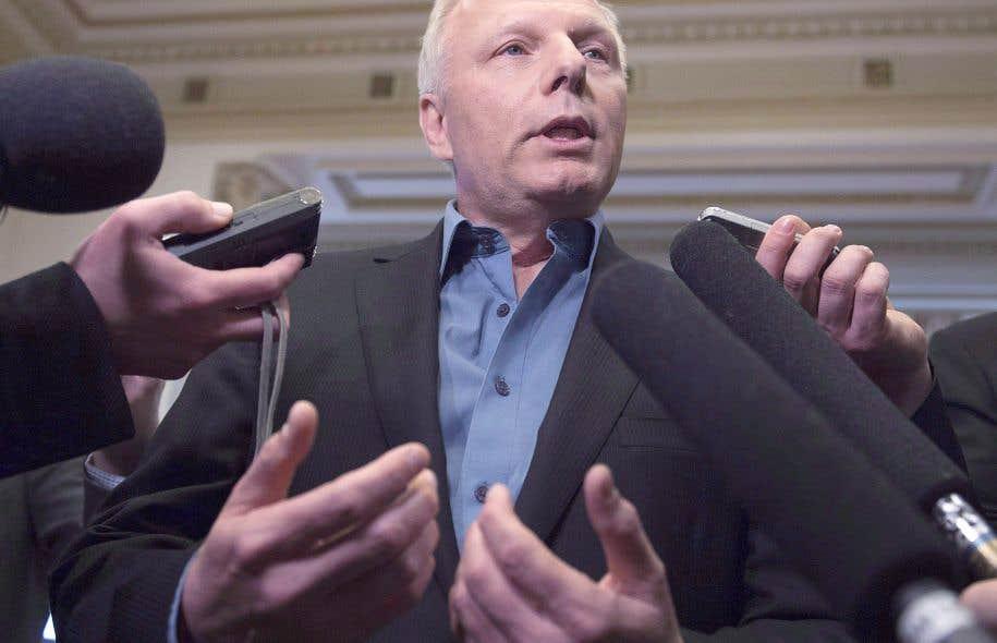 Le député de Rosemont et candidat à la direction du Parti québécois, Jean-François Lisée