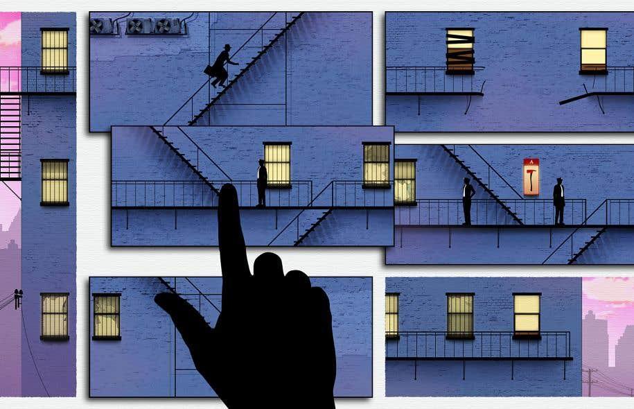 «Framed» est une animation à cheval entre la bédé et le casse-tête, où l'usager doit trouver la séquence narrative permettant à un gangster d'échapper à la police.
