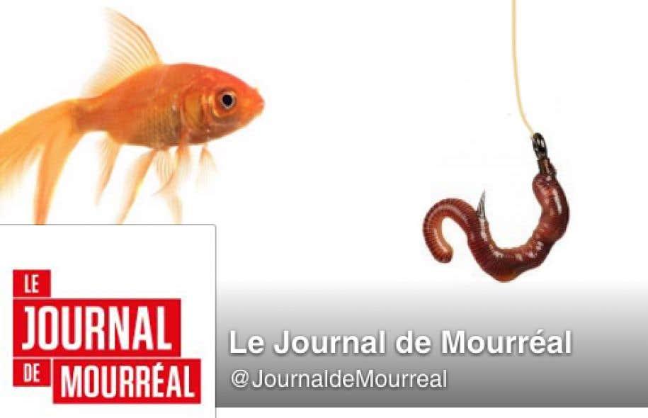 Le Journal de Montréal poursuit un site humoristique