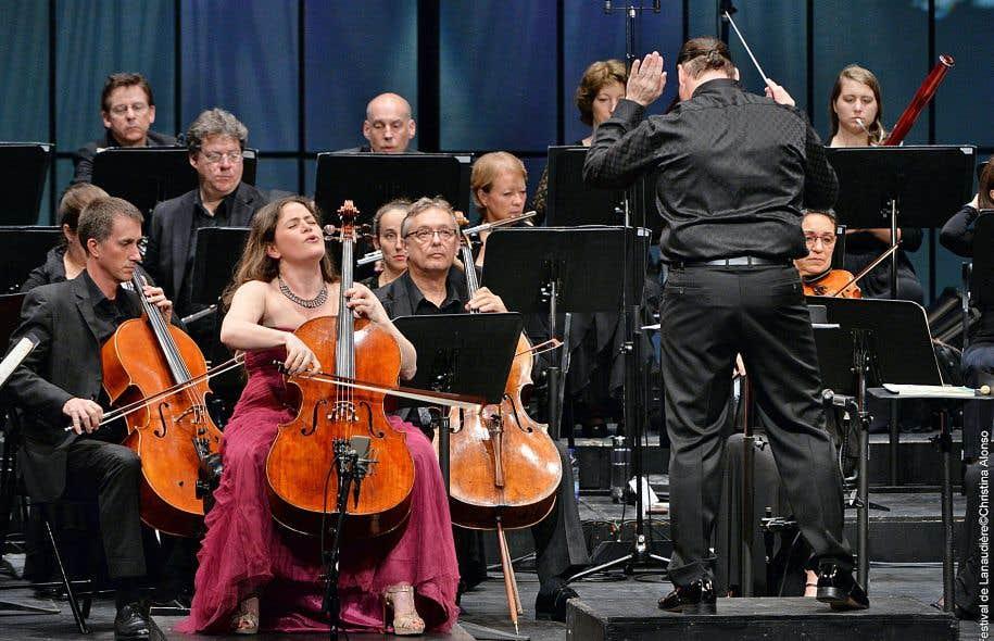 Emmanuelle Bertrand a excellé dans le «1erconcerto» de Saint–Saëns.