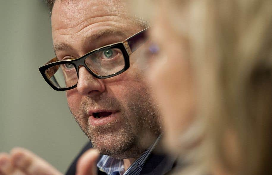 Alexandre Taillefer était conférencier au Forum social mondial, vendredi après-midi.