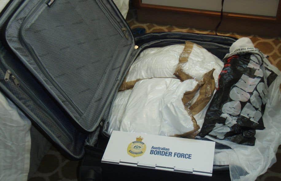 Trois Canadiens arrêtés avec 95 kilos de cocaïne en Australie