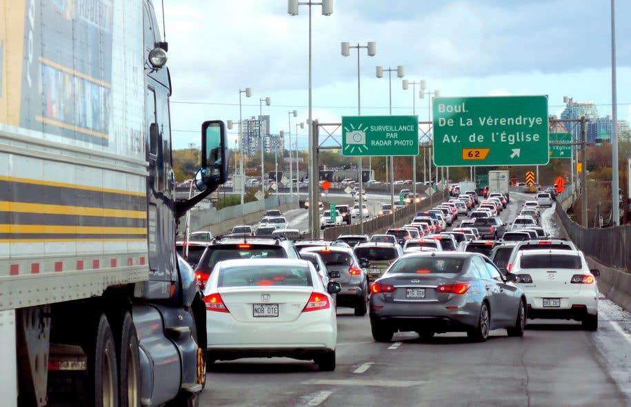 De 2006 à 2013, il s'est ajouté en moyenne 80 000 véhicules au Québec.