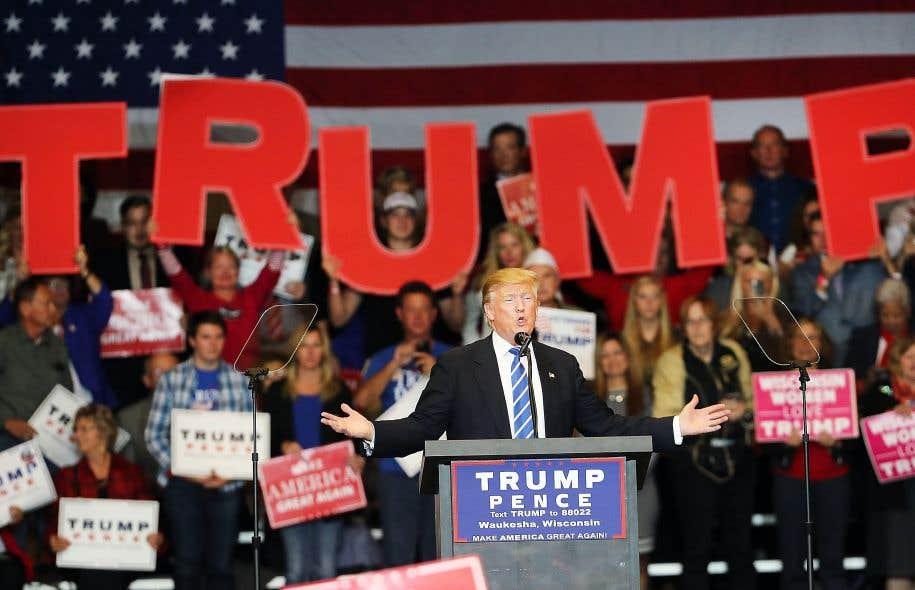 Les partisans de Donald Trump espèrent que le milliardaire montrera un autre visage le 9octobre à Saint-Louis, lors du prochain débat présidentiel.