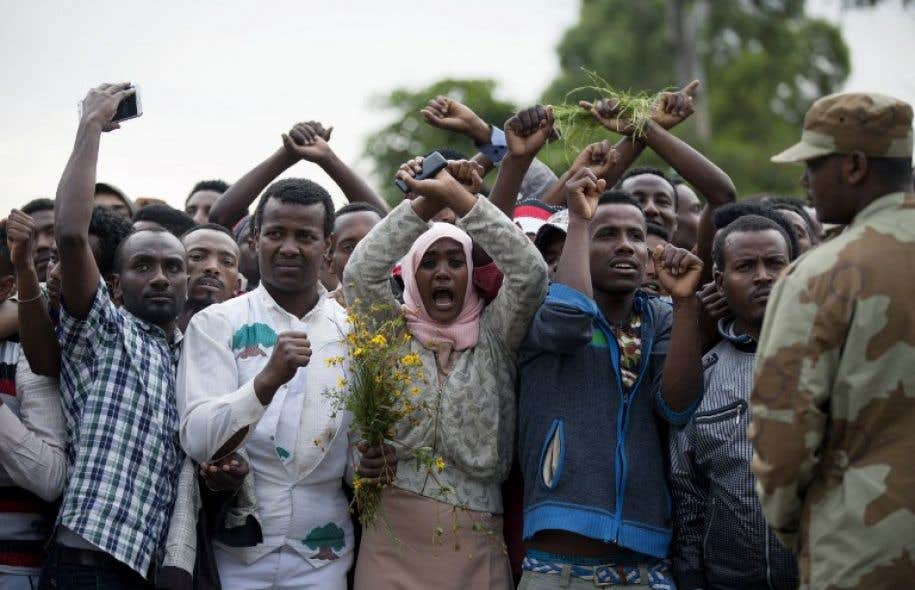 Le choc après les échauffourées meurtrières du week-end — Ethiopie