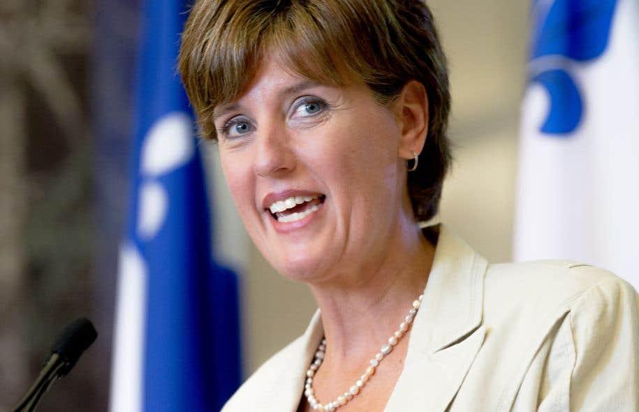 La ministre du Développement international et de la Francophonie, Marie-Claude Bibeau
