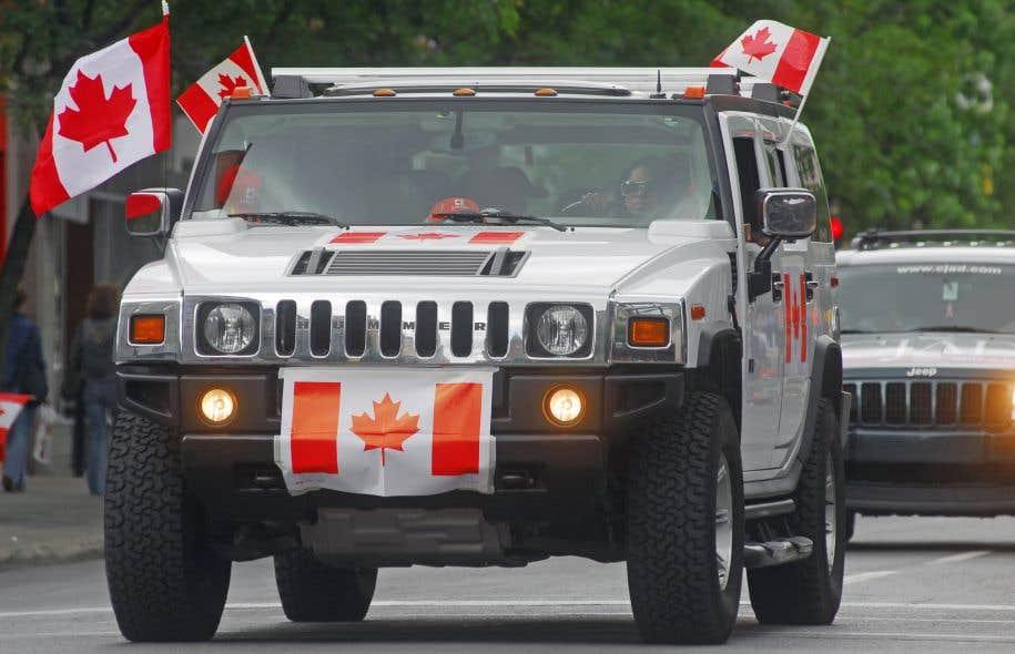 La vente de VUS a connu une année record en 2016 au Québec et à l'échelle canadienne.