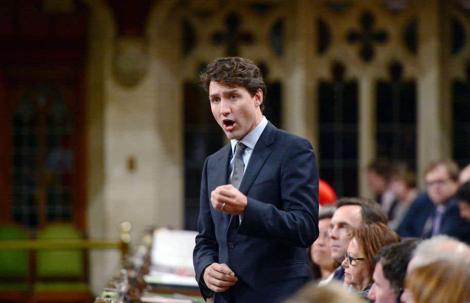 Mardi, en Chambre, Justin Trudeau a été la cible de questions insistantes de l'opposition.