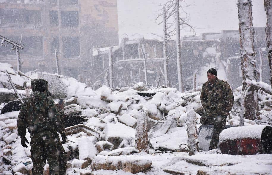 40 000 civils toujours coincés dans Alep — Syrie